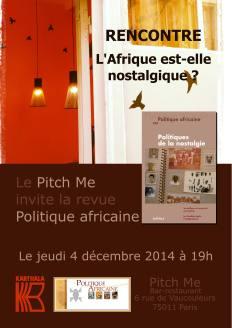 Affiche invit' Politique Africaine